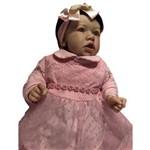 Boneca Bebe Reborn Sarah com Corpo Inteiro Siliconado