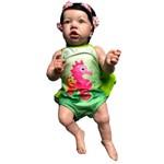 Boneca Bebe Reborn Summer com Corpo Inteiro Siliconado