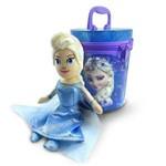 Boneca Chaveiro Elsa na Lata Frozen - Bnk06-fz3 - Taimes