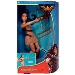 Boneca Colecionável Collector Mulher Maravilha Articulada - DC Comics - Wonder Woman - Princesa Diana Traje de Treino - Mattel