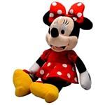Boneca de Pelúcia Minnie Mouse com Som Disney - Multikids