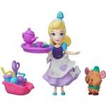 Boneca Disney Princess Mini Princesas e Amigo Cinderela - Hasbro