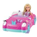 Boneca e Veículo - Sparkle Girlz - Carro Fada - Dtc