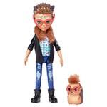 Boneca Fashion e Animal - Enchantimals - Hixby Hedgehog e Pointer - Mattel