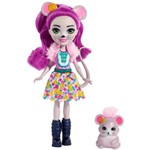 Boneca Fashion e Animal - Enchantimals - Mayla Mouse e Fondue