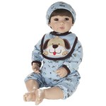 Boneca Laura Doll Blue Petzz - Bebê Reborn