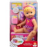 Boneca Little Mommy Momentos do Bebê Trocar Fralda - Mattel