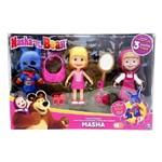 Boneca Masha com Roupas e Acessórios - Sunny