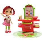 Boneca Moranguinho Play Set Cafeteria - DTC