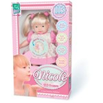Boneca Nicole 113 Frases - Super Toys