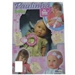 Boneca Paulinha Baby - 3079 - Homeplay