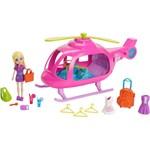 Boneca Polly Pocket - Helicóptero Popstar - Mattel