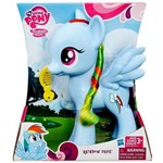 Boneca Pônei Rainbow Dash 20cm Azul My Little Pony - Hasbro