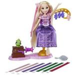 Boneca Princesas Disney Cabelos Magicos Rapunzel Hasbro B6835 11487