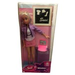 Boneca Susi Wireless com Mini Notebook Rosa de Brinquedo - Estrela - Ano 2012