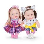 Bonecas Carinha de Anjo Dulce Maria e Juju Cotiplas