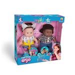 Bonecas Carinha de Anjo Juju e Zeca Cotiplas