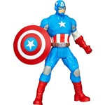 Boneco Avengers All Star Captain América A4432/A4433 - Hasbro