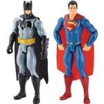 Boneco Batman Vs Superman Movie Pack 2 Unidades - Mattel