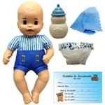 Boneco Bebê Menino Little Mommy Recém Nascido Azul - Mattel