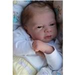 Boneco Bebê Reborn Lucas Molde Importado Autentico
