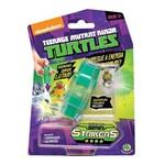 Boneco com Lançador Spin Strikers Tartarugas Ninja - Dtc