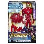 Boneco com Power FX - Homem de Ferro