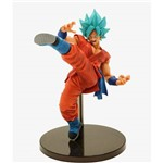Boneco de Ação Action Figure Dragon Ball Super Goku Cabelo Azul Blue Special