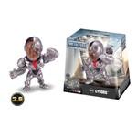 Boneco de Metal Liga da Justiça - Cyborg 6cm - Jada Toys - Dtc