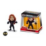 Boneco de Metal Vingadores - Black Widow 6cm - Jada Toys - Dtc
