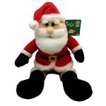 Boneco de Pelúcia Bom Velhinho Papai Noel Vermelho Natal - Dtc