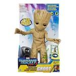 Boneco Eletrônico Baby Groot Dançarino Guardiões da Galáxia Hasbro