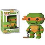 Boneco Funko Pop 8-bit Turtles Ninja - Michelangelo 07