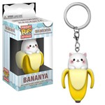 Boneco Funko Pop Keychain Bananya Bananya