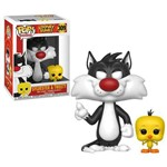 Boneco Funko Pop Looney Tunes Sylvester & Tweety 309