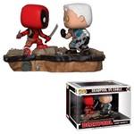 Boneco Funko Pop Marvel Comic Moments - Deadpool Vs Cable 318