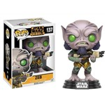 Boneco Funko Pop Star Wars Rebels Zeb 137
