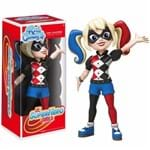 Boneco Funko Rock Candy Dc Super Hero Girsl - Harley Quinn