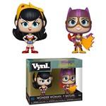 Boneco Funko Vynl Dc Wonder Woman + Batgirl 2pack
