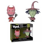 Boneco Funko Vynl Disney Nbc Lock + Shock 2pack