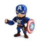 Boneco Guerra Civil Marvel Metal 10cm 3867 DTC Capitão América Capitao America