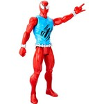 Boneco Homem-Aranha Titan Hero Web Warriors - Marvel's Scarlet Spider B9710/C0018 - Hasbro