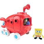 Boneco Imaginext Bob Esponja Ônibus da Fenda do Biquini - Mattel
