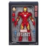 Boneco Iron Man Legend Séries Articulado B7434 Hasbro