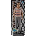 Boneco Ken Barbie Fashionistas - Mattel