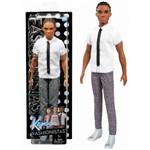 Boneco Ken Negro Cabelo Dread Namorado da Barbie Mattel