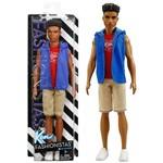Boneco Ken Negro Fashionista 05 Namorado da Barbie Mattel
