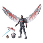 Boneco Legends Séries Marvel - Habro - Falcon - Guerra Civil