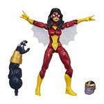Boneco Legends Séries Marvel Hasbro - Spider-Woman