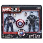 Boneco Marvel Legends - Marvel Studios Capitain America + Crossebones E2447